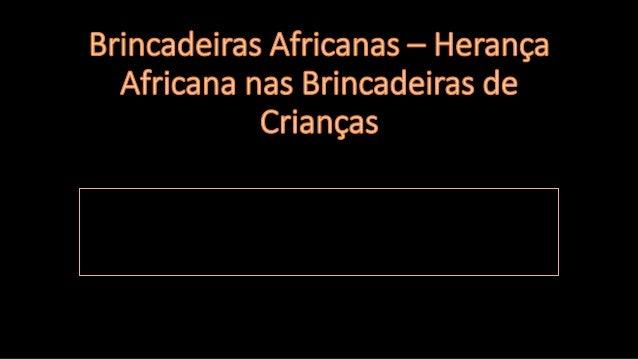 A diversidade cultural do Brasil está fortemente ligada à cultura africana e foram transmitidas crenças, costumes e religi...