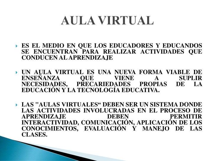 AULAS VIRTUALES Slide 3