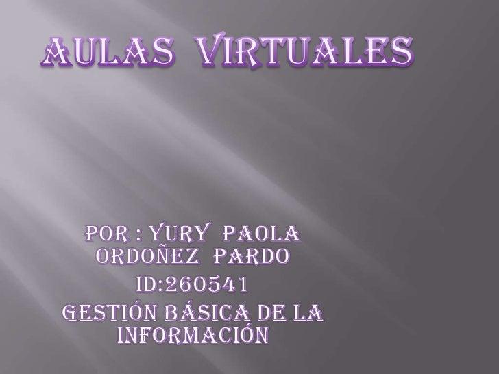 Aulas  virtuales pao [autoguardado]