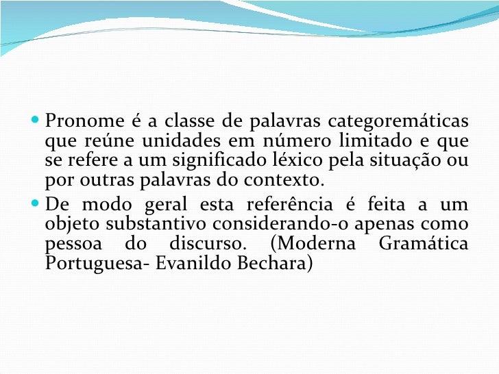 Pronomes Pessoais Slide 2