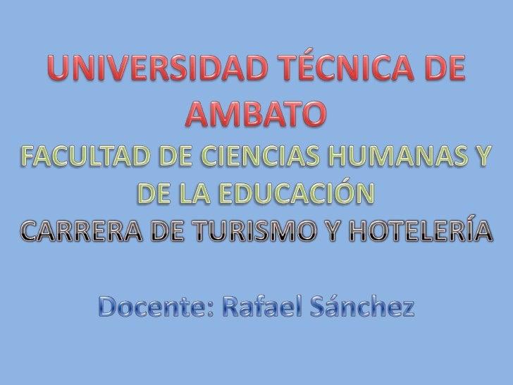 AULA VIRTUAL DE INTRODUCCIÓN          HOTELERA