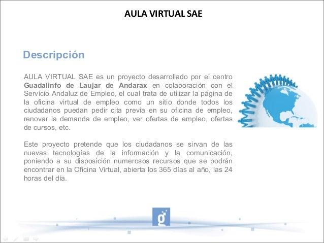 Aula virtual sae for Sae oficina virtual renovar demanda