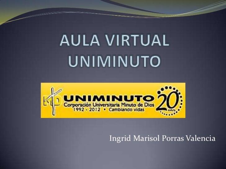 Aula virtual uniminuto for Aula virtual fp valencia