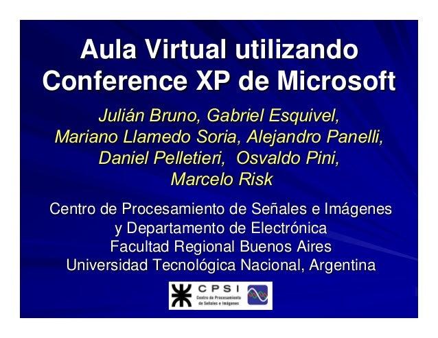 Julián Bruno, Gabriel Esquivel,Julián Bruno, Gabriel Esquivel, Mariano Llamedo Soria, Alejandro Panelli,Mariano Llamedo So...
