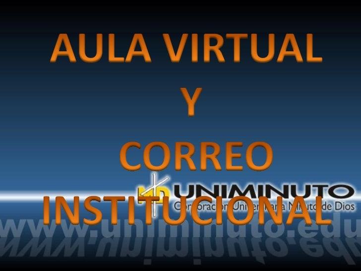 Aula virtual y
