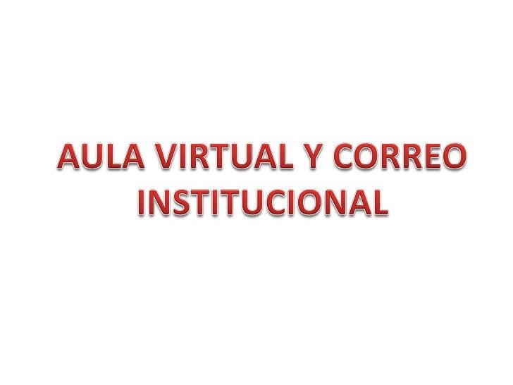 ACTUALIZACIÓN DE DATOSIngresar al aula virtual , digitando el usuario   y contraseña. En la parte superior delpantallazo e...