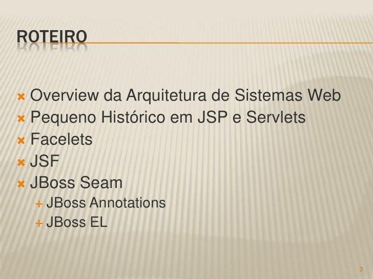 Sistema S2DG e Tecnologias Web Slide 3
