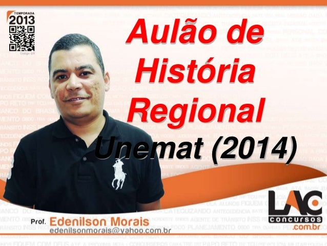 Aulão de História Regional Unemat (2014)