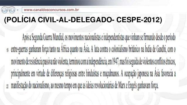 (POLÍCIA CIVIL-AL-DELEGADO- CESPE-2012)