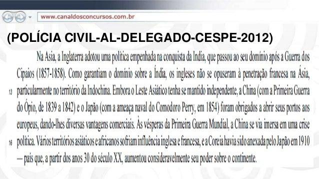 (POLÍCIA CIVIL-AL-DELEGADO-CESPE-2012)