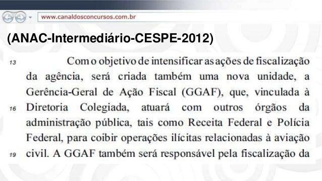 (ANAC-Intermediário-CESPE-2012)