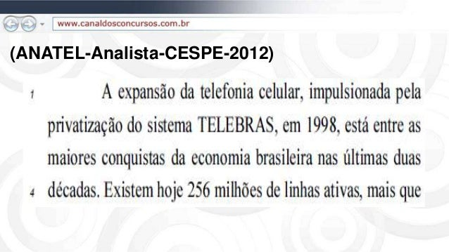 (ANATEL-Analista-CESPE-2012)