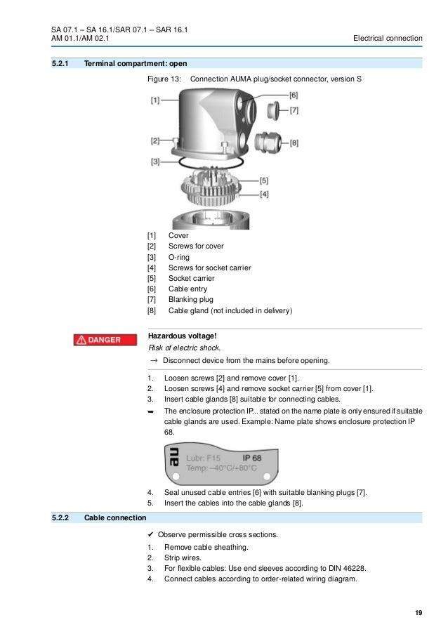 auma matic actuator wiring diagram