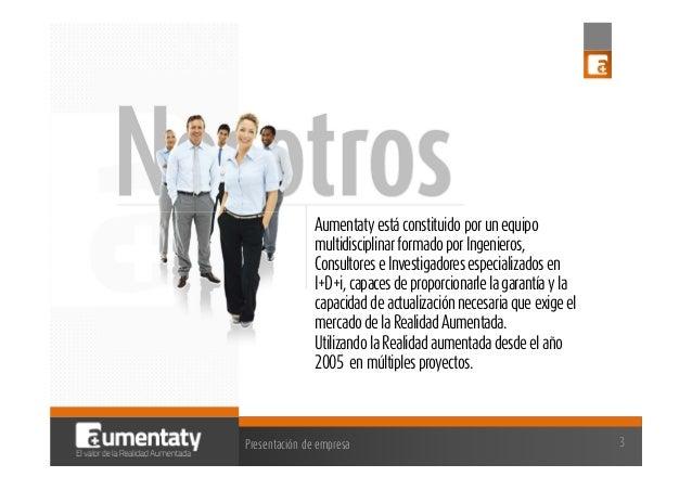 Aumentaty Simo Educacion 2013 Slide 3