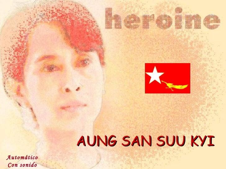 AUNG SAN SUU KYI Automático Con sonido
