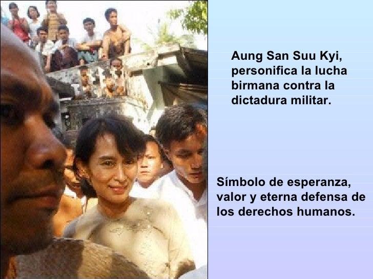 Aung San Suu Kyi Una Historia De Compromiso Con La Libertad