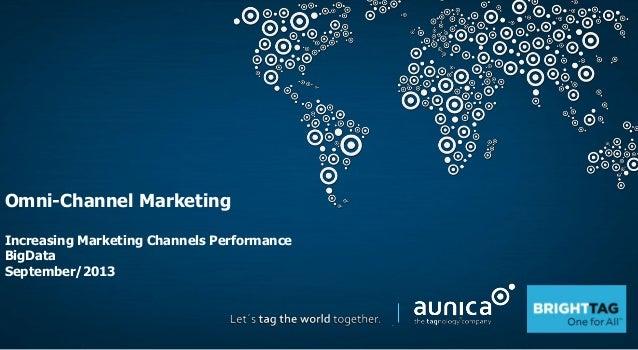 Omni-Channel Marketing Increasing Marketing Channels Performance BigData September/2013