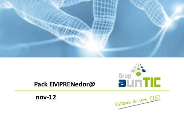 Pack EMPRENedor@nov-12
