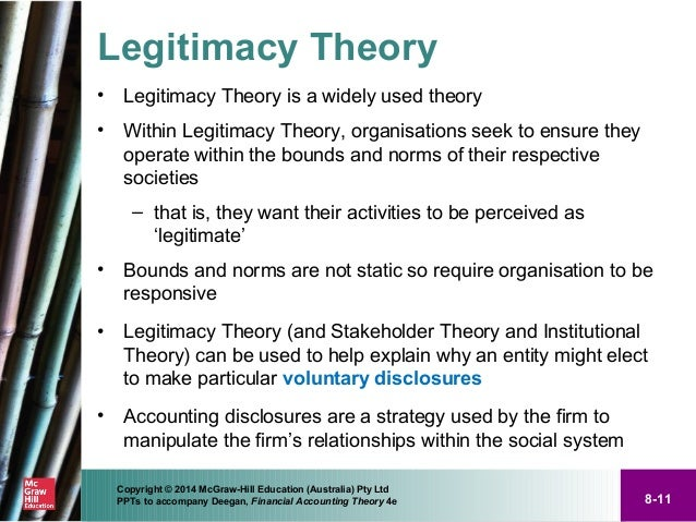 a discussion on the justification of the state and state legitimacy 1-4 legitimacy and state formation processes   society are linked  and by which state authority is justified  the report starts in section 1 by  discussing basic concepts such as the state, legitimacy and fragility in section 2,  we.