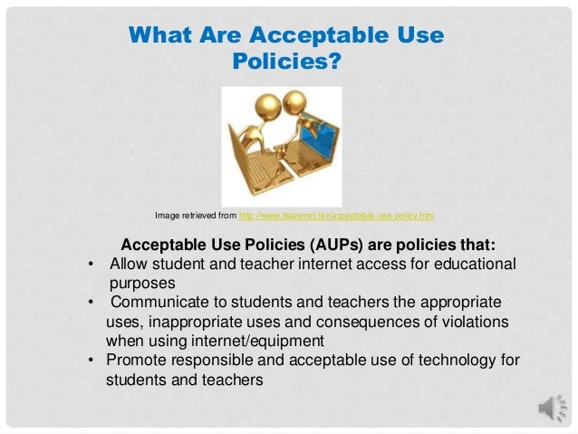 A Guide To Acceptable USe Policies In Education