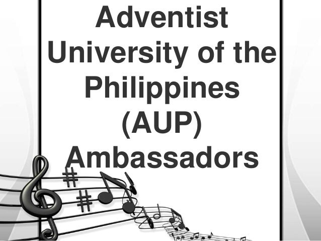 Adventist University of the Philippines (AUP) Ambassadors