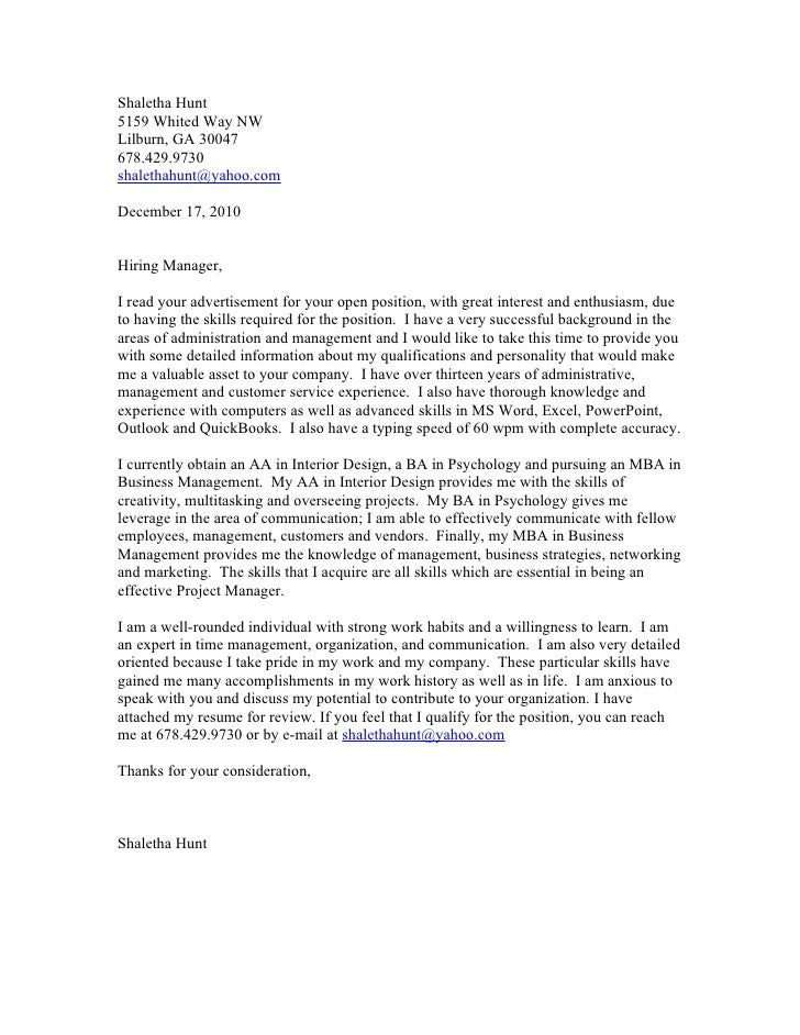 how to write a prospective cover letter - interior design business introduction letter sample