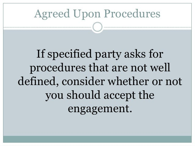 agreed upon procedures engagement letter aup vs consulting engagements 20419 | aup vs consulting engagements 20 638