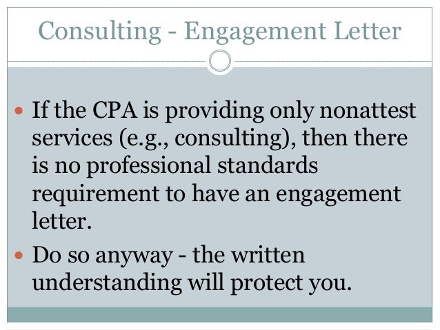 AUP vs. Consulting Engagements