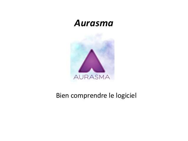 Aurasma Bien comprendre le logiciel