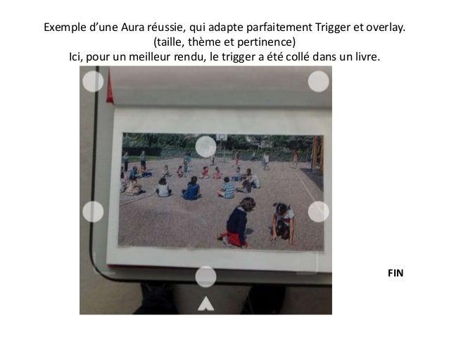 Exemple d'une Aura réussie, qui adapte parfaitement Trigger et overlay. (taille, thème et pertinence) Ici, pour un meilleu...