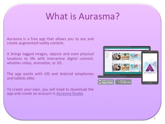 Aurasma tutorial for Sherlock Holmes and the Internet of Things Slide 2