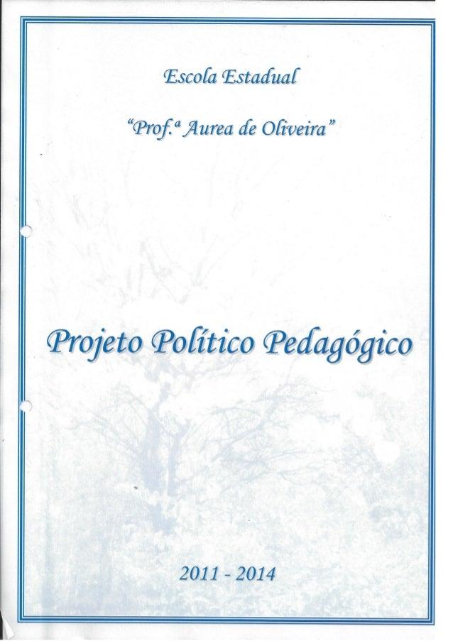 Plano Gestão EE Profa Aurea de Oliveira