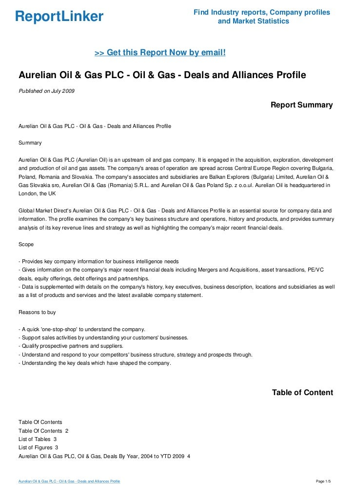 case study for pacific oil company and reliant chemical company