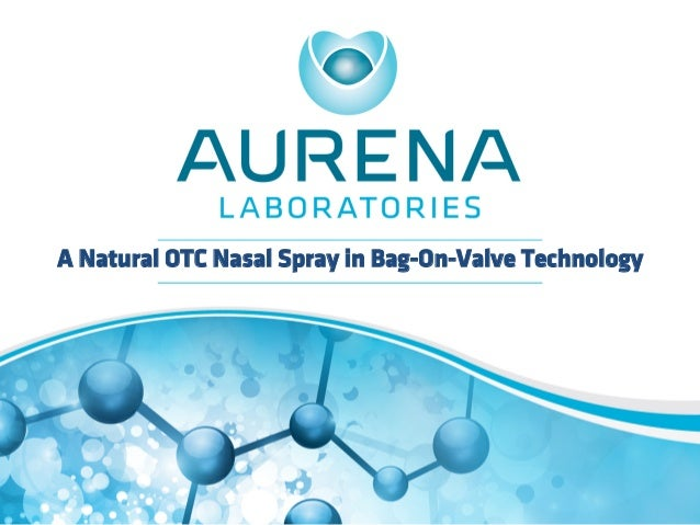 A Natural OTC Nasal Spray in Bag-On-Valve Technology
