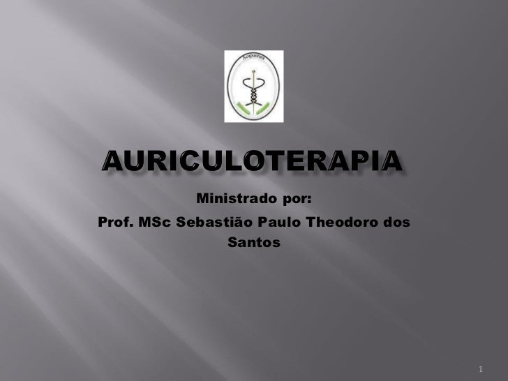 Ministrado por: Prof. MSc Sebastião Paulo Theodoro dos Santos