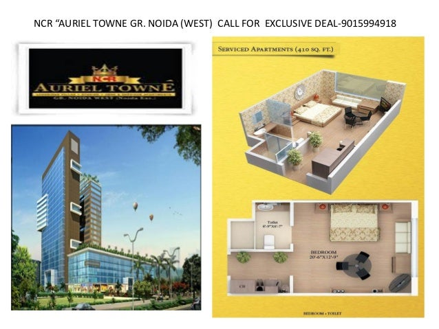 "NCR ""AURIEL TOWNE GR. NOIDA (WEST) CALL FOR EXCLUSIVE DEAL-9015994918"