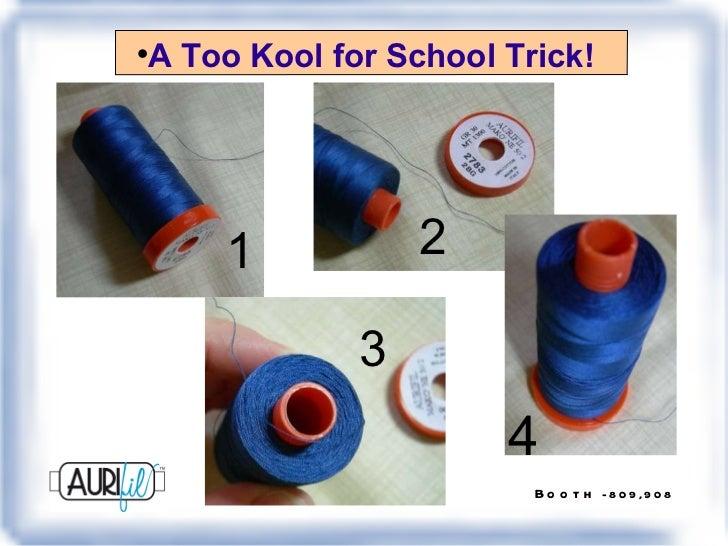 <ul><li>A Too Kool for School Trick! </li></ul>1 2 3 4