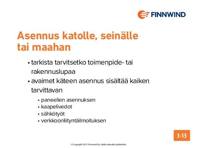 Aurinkovoimala maatiloille: perustietoa ja aurinkosähköhankinnan muistilista Slide 3
