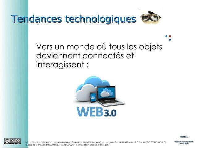 Tendances technologiques Vers un monde où tous les objets deviennent connectés et interagissent:  Auris Solutions - Licen...