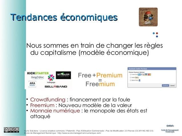 Tendances économiques Nous sommes en train de changer les règles du capitalisme (modèle économique)      Crowdfunding:...