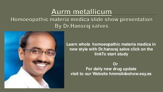 Learn whole homoeopathic materia medica in new style with Dr.hansraj salve click on the linkTo start study Or For daily ne...