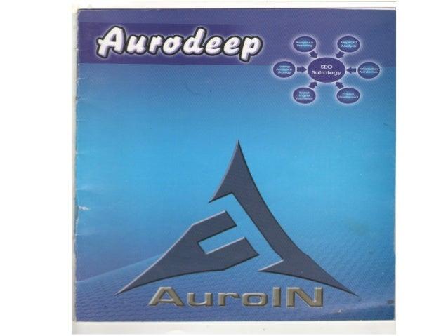 Inside AuroIN's Annual Magazine: Aurodeep