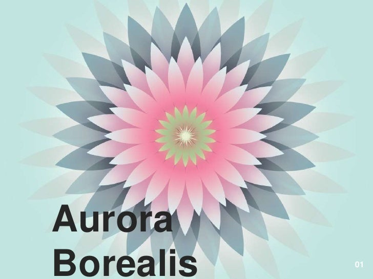 Aurora Borealis <br />Made by Riquette Mory<br />01<br />