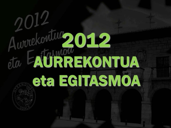 2012AURREKONTUAeta EGITASMOA