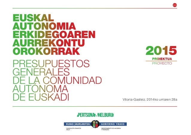 EUS  Vitoria-Gasteiz. 2014ko urriaren 28a