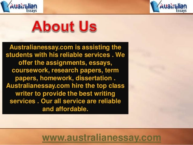 We do your term paper online