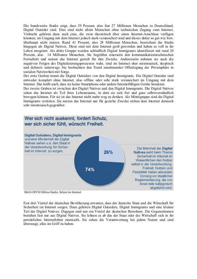 Die bundeweite Studie zeigt, dass 39 Prozent, also fast 27 Millionen Menschen in Deutschland, Digital Outsider sind. Dies ...