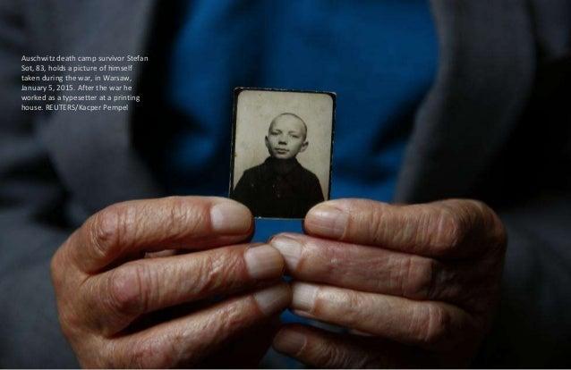 Auschwitz death camp survivor Elzbieta Sobczynska (maiden name Gremblicka), 80, who was registered with camp number 85536,...