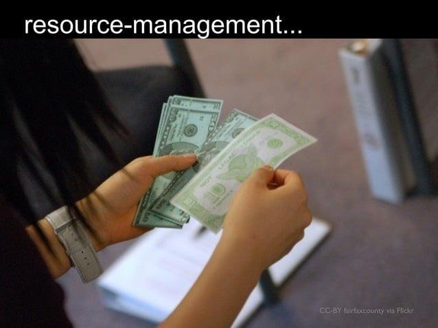 CC-BY fairfaxcounty via Flickr resource-management...