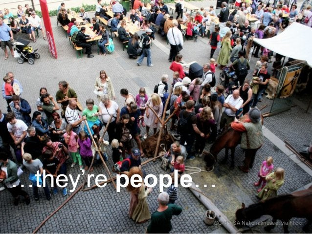…they're people… CC-BY-SA Nationalmuseet via Flickr